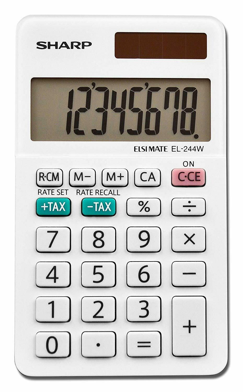 Sharp / 8 Digit Business Calculator, LCD