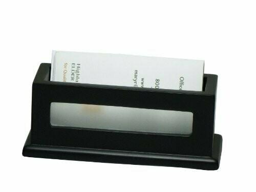 Victor Technology / Business Card Holder, Midnight Black