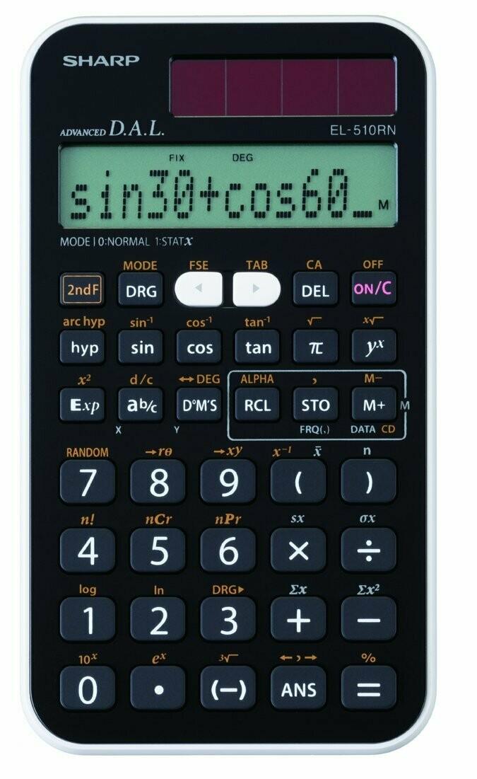 Sharp / Engineering/Scientific Calculator with Solar Power
