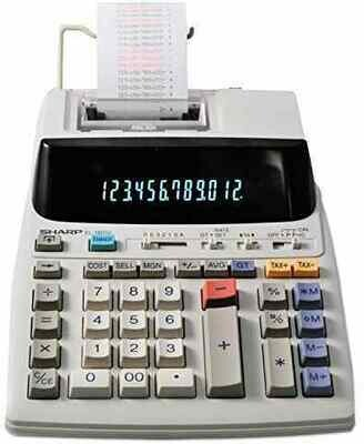 Sharp / 12 Digit Commercial Use Printing Calculator