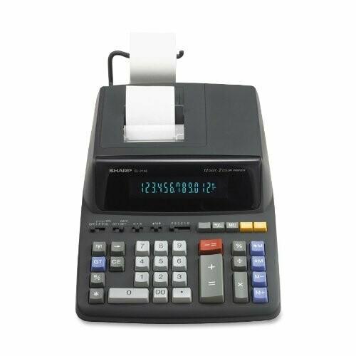 Sharp / 12 Digit Printing Calculator