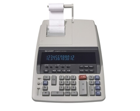 Sharp / 12 Digit Professional Heavy Duty Commercial Printing Calculator
