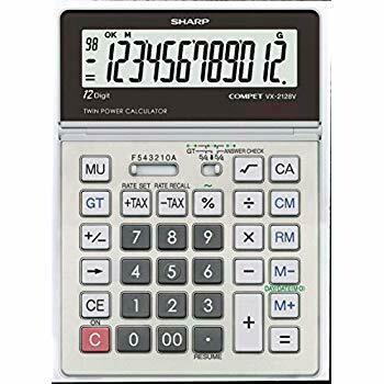 Sharp / 12 Digit Portable Desktop Handheld Calculator