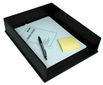Victor Technology / Front Load Letter Tray, Midnight Black