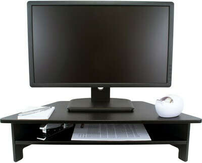 Victor Technology / High Rise™ Monitor Stand, Midnight Black