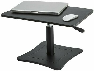 Victor Technology / High Rise Height Adjustable Stand, Midnight Black