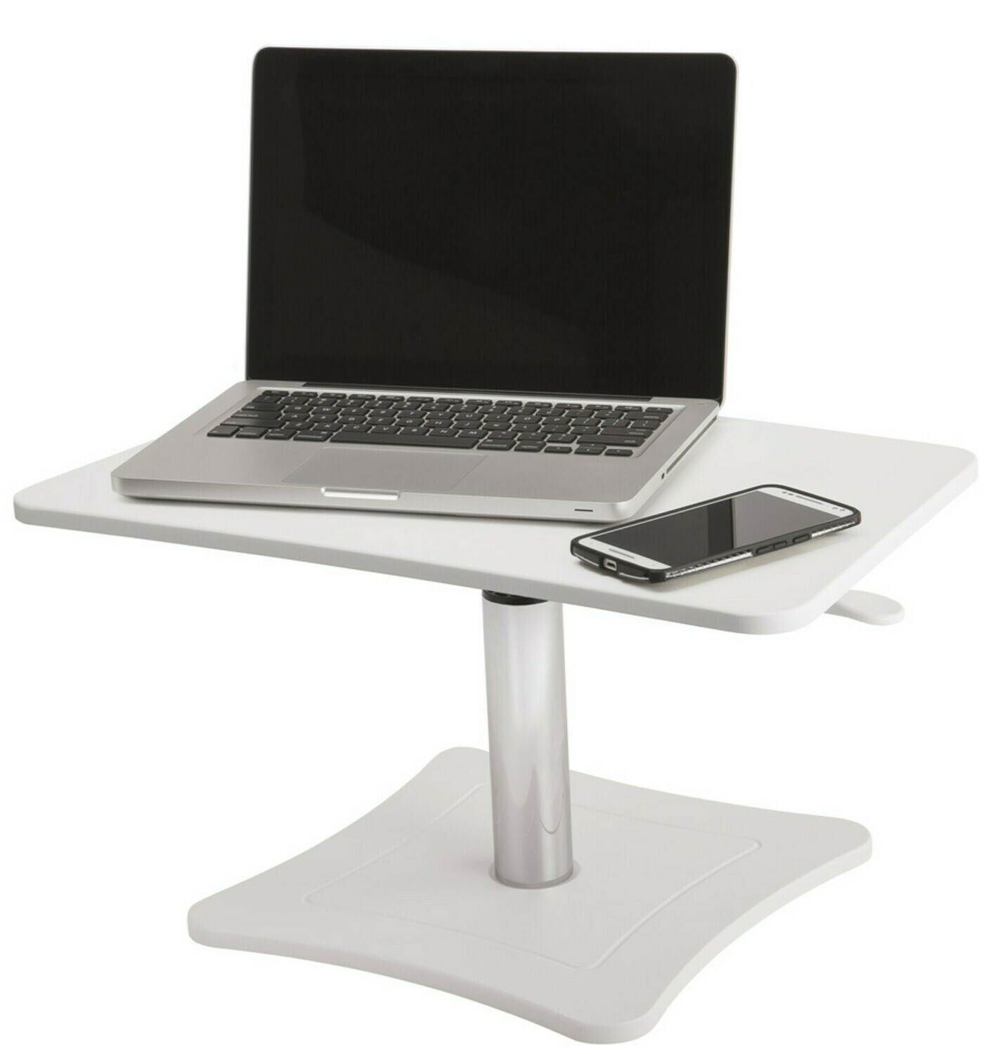 Victor Technology / High Rise Height Adjustable Stand, Pure White