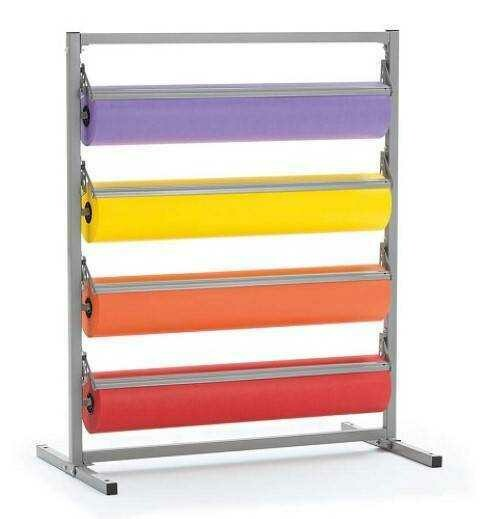 Pacon / Multi-Roll Paper Rack, Horizontal, Tower Style