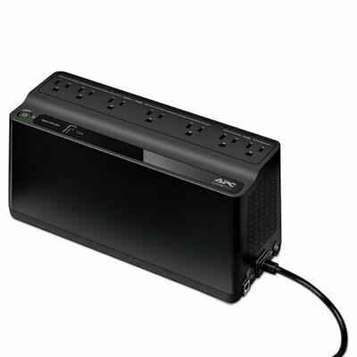 APC / Smart-UPS 600 VA Battery Backup System, 7 Outlets, 490 J