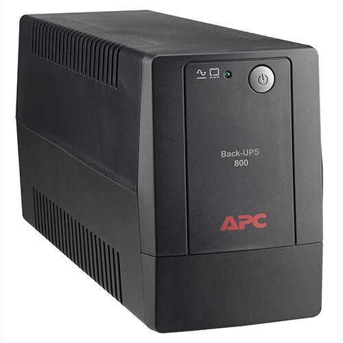 APC / Back-UPS 800VA, 120V, AVR, LAM