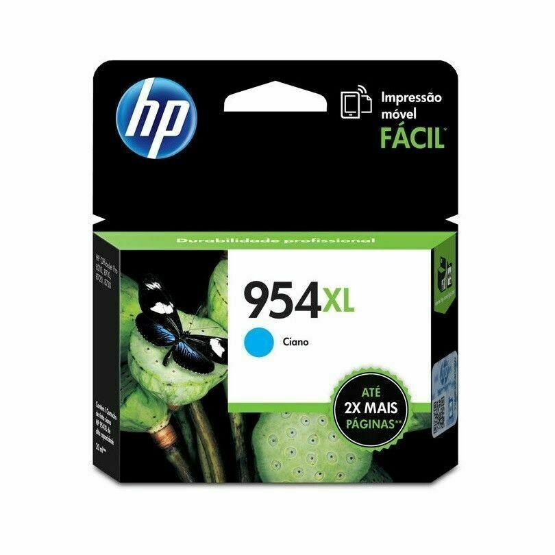 HP / 954XL Cyan New Original Ink Cartridge