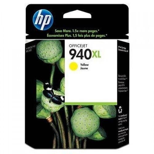 HP / 940XL Yellow Original Ink Cartridge