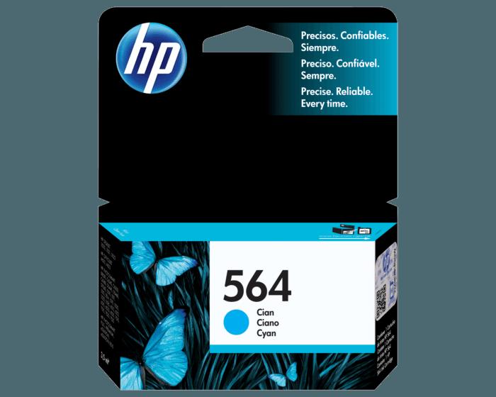 HP / 564 Cyan New Original Ink Cartridge