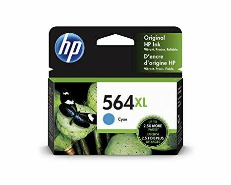 HP / 564XL Cyan New Original Ink Cartridge