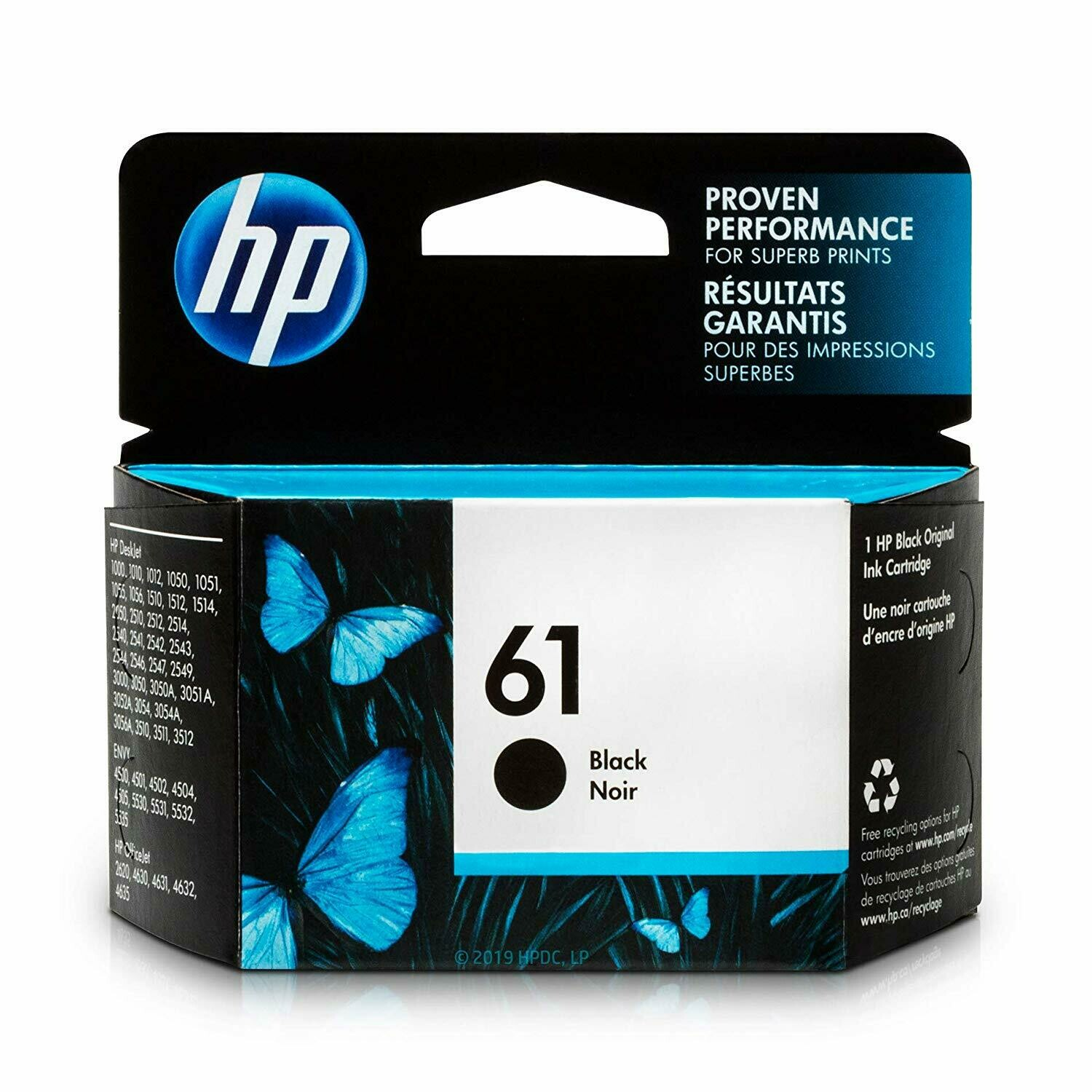 HP / 61 Black Original Ink Cartridge