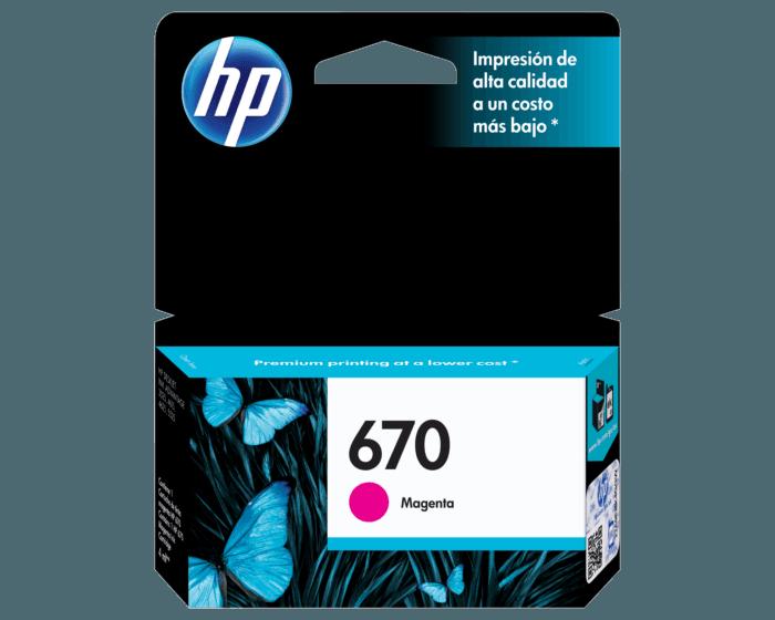 HP / 670 Magenta Original Ink Cartridge