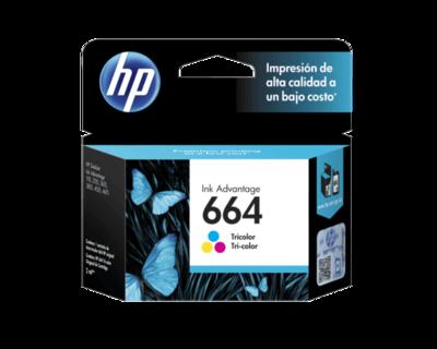 HP / 664 Tri-Color Original Ink Cartridge