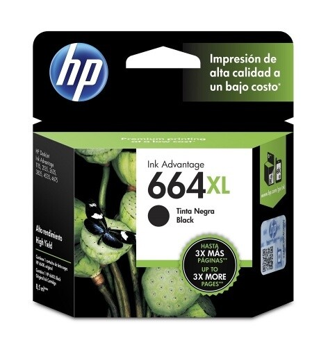 HP / 664XL Black Original Ink Cartridge