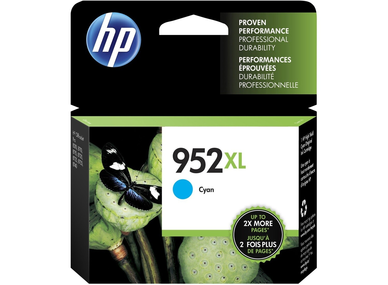 HP / 952XL Cyan Original Ink Cartridge