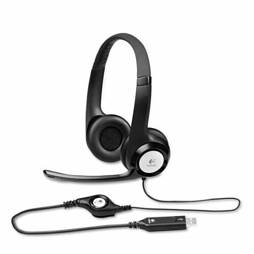 Logitec / H390 USB Headset w/Noise-Canceling Microphone