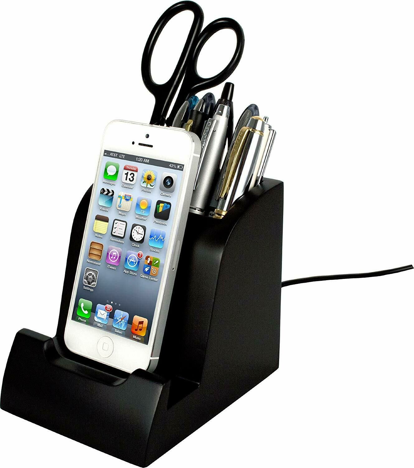 Victor Technology / Smart Charge Lightning Dock™ with Pencil Cup