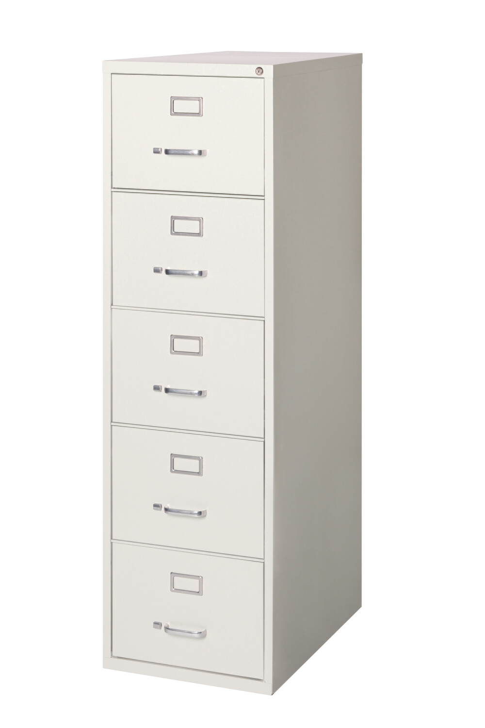 Vertical File Cabinet, 5-Drawer, LEGAL, Gray
