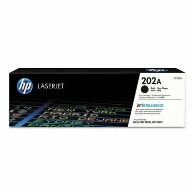HP / 202A Black Original LaserJet Toner Cartridge