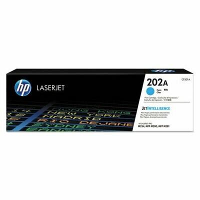 HP / 202A Cyan Original LaserJet Toner Cartridge