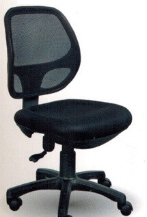 Mesh Seating, Chair Prima 8116 Black Only [With or Without Arms]