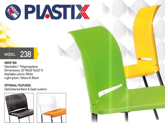 Visitor Seating, Plastix 238
