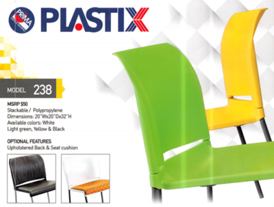 Visitor Seating, Plastix 238
