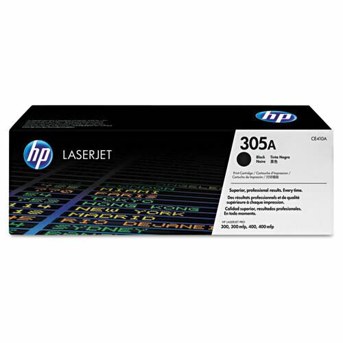 HP / 305A Black Original LaserJet Toner Cartridge