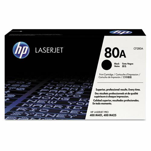 HP / 80A Black Original LaserJet Toner Cartridge