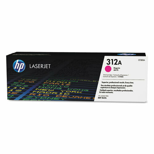 HP / 312A Magenta Original LaserJet Toner Cartridge