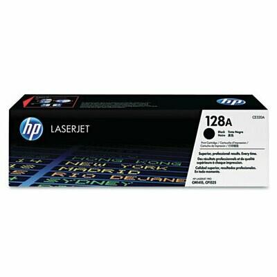 HP / 128A Black Original LaserJet Toner Cartridge