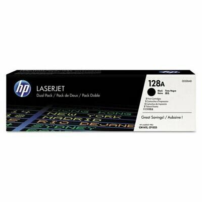 HP / 128A 2-pack Black Original LaserJet Toner Cartridges