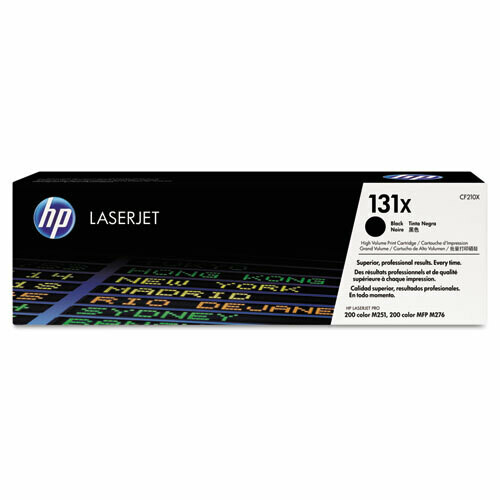 HP / 131X High Yield Black Original LaserJet Toner Cartridge