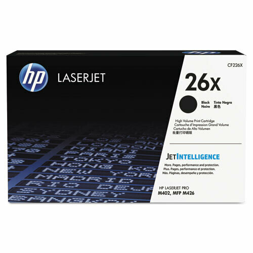 HP / 26X High Yield Black Original LaserJet Toner Cartridge