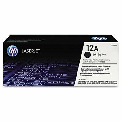 HP / 12A Black Original LaserJet Toner Cartridge