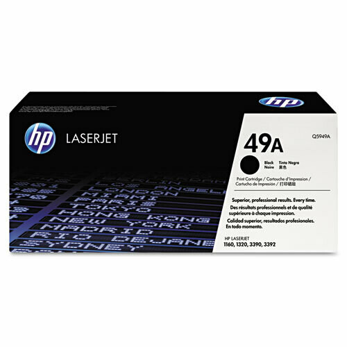 HP / 49A Black Original LaserJet Toner Cartridge