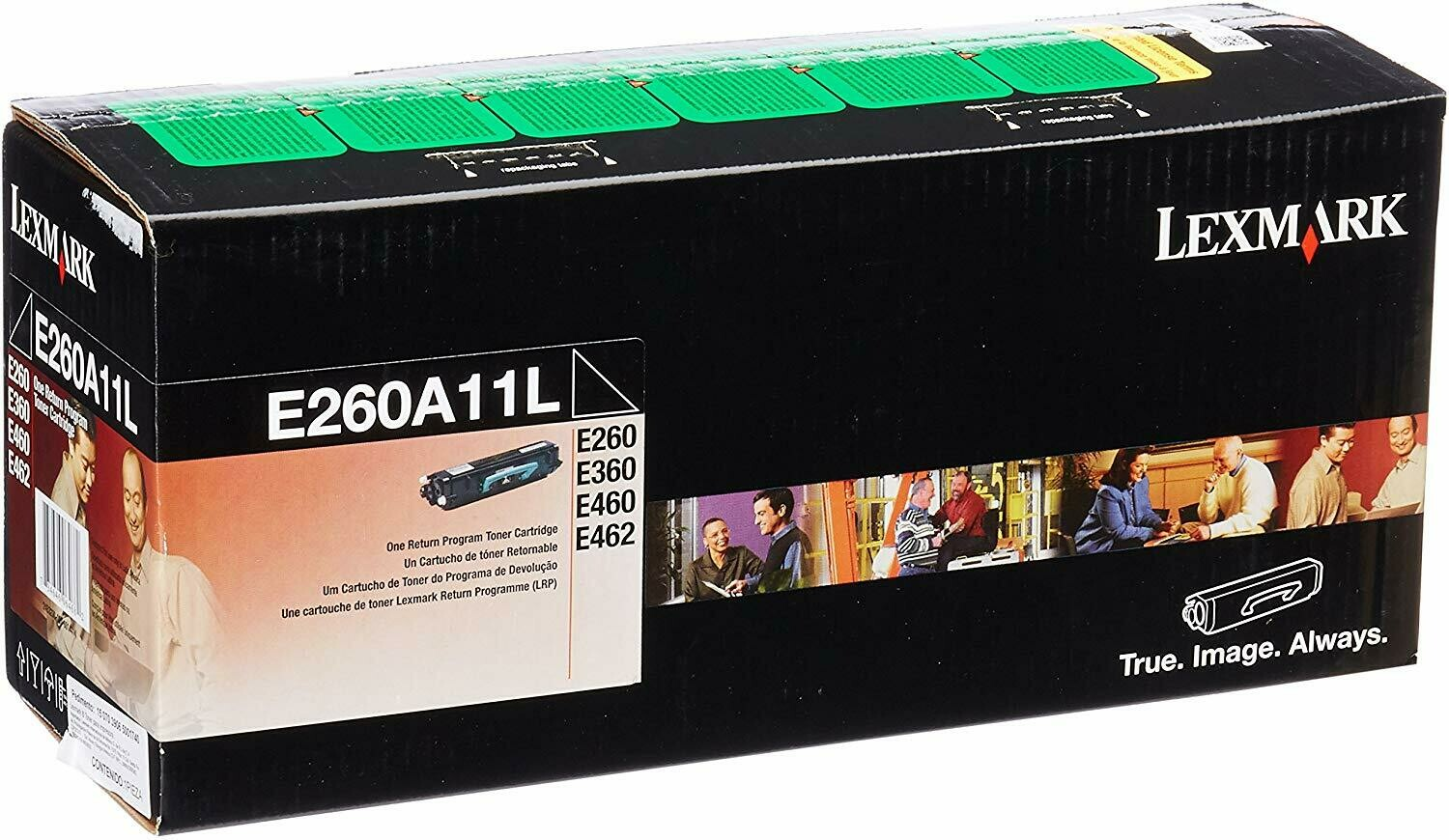 Lexmark / E260A11L Black Original LaserJet Toner Cartridge