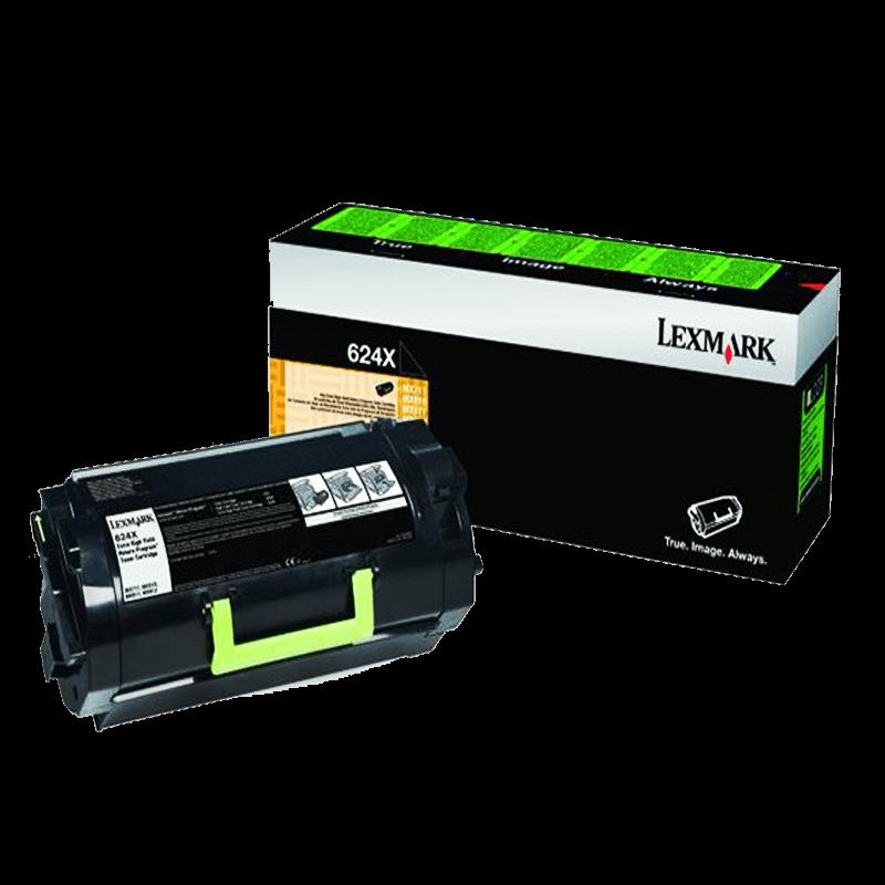 Lexmarx / 624X Black LaserJet Toner Cartridge
