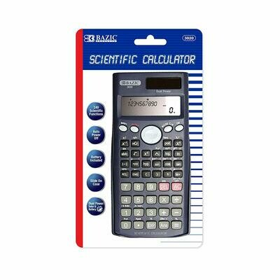 Bazic /  240 Function Scientific Calculator w/Slide-On Case