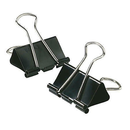 """Binder Clips Small 3/4"""" [pk-12]"""