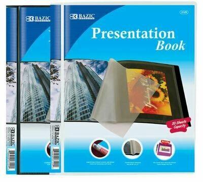 Bazic / Presentation Book