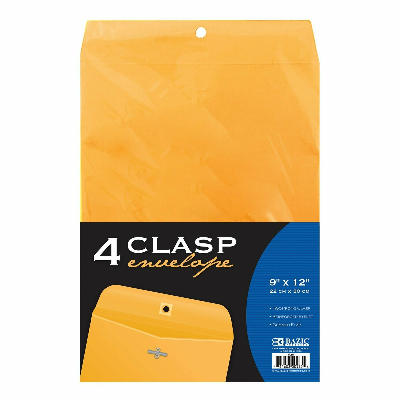 """Bazic / Clasp Envelope 9"""" x 12"""""""
