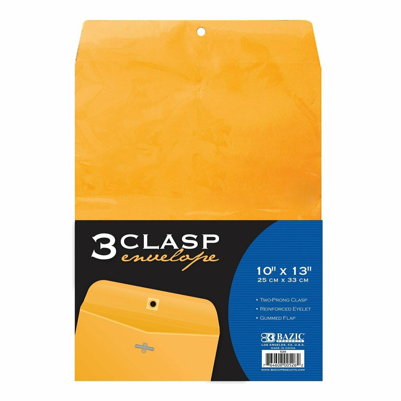"""Bazic / Clasp Envelope 10"""" x 13"""""""
