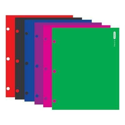 Bazic /  2-Pockets Portfolios Laminated Bright Glossy Color