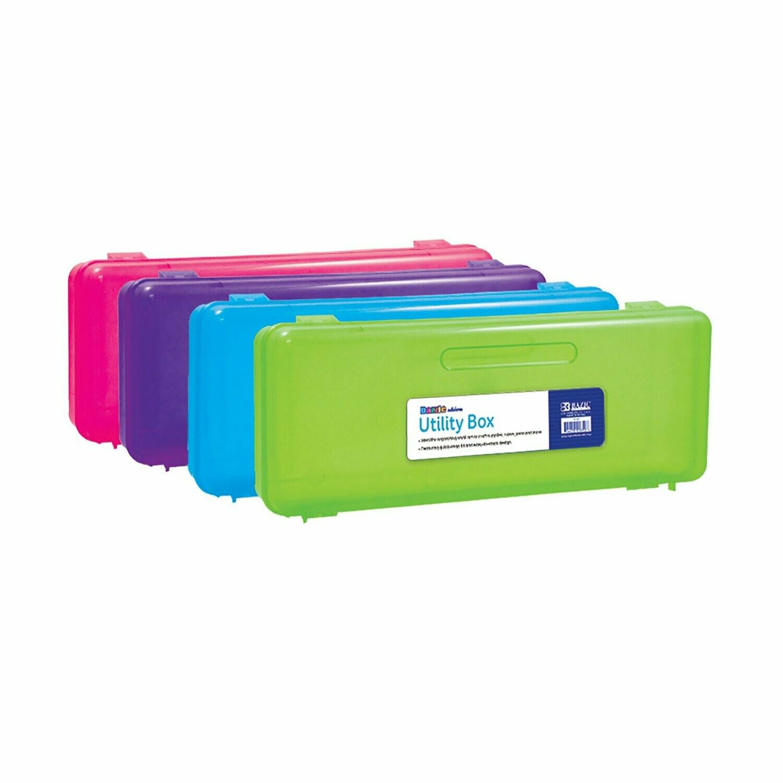 Bazic / Utility Box Bright Multipurpose, Ruler Length