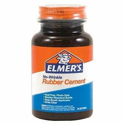 Elmers / Rubber Cement 4.0 oz